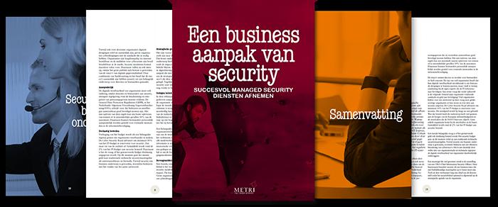 Een business aanpak van security cover