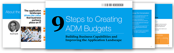9 Steps to Create ADM Budgets