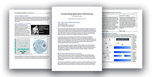 Accelerating Application Refactoring