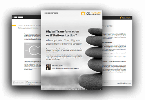 Digital Transformation or IT Rationalization: Why Application Cloud Migration Should Have a Balanced Strategy