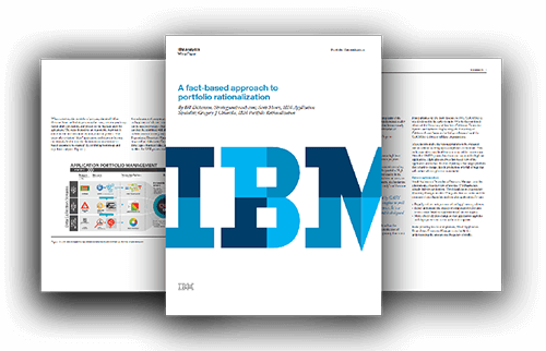 IBM A Fact-Based Approach To Portfolio Rationalization