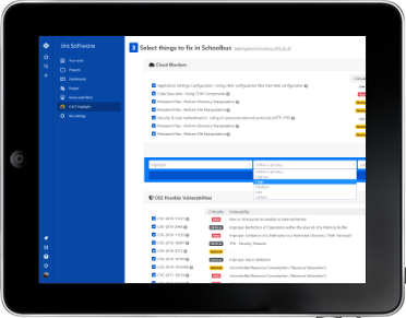 Feed your JIRA with CAST Highlight