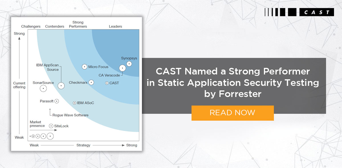 The Forrester Wave Static Application Security Testing