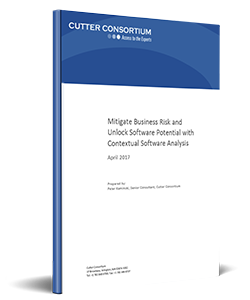 Mitigate Business Risk and  Unlock Software Potential with Contextual Software Analysis