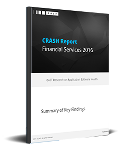CRASH Report 2016 on Financial-Services - Summary of key findings