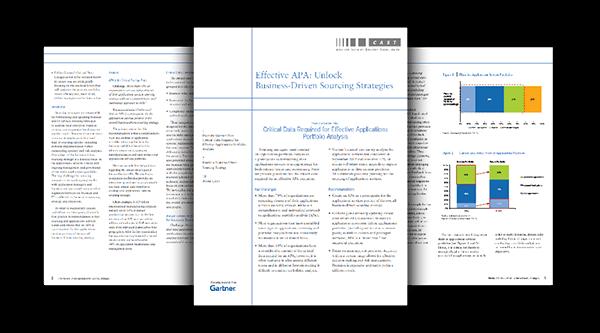 Gartner: Effective APA - Unlock Business-Driven Sourcing Strategies