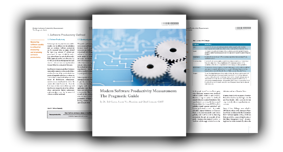 Modern Software Productivity Measurement:The Pragmatic Guide