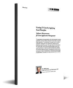 Cutting IT Costs By Applying Lean Principles